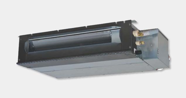 Monosplit Full DC Inverter Light Commercial – Canalizzabile a bassa prevalenza